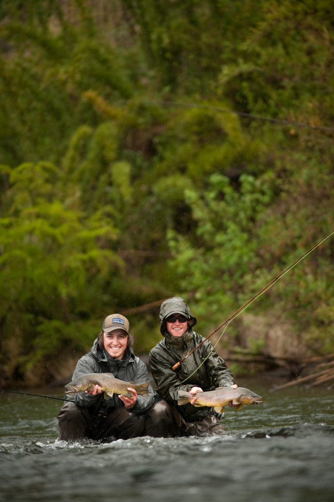 fly fishermen posing for a photo