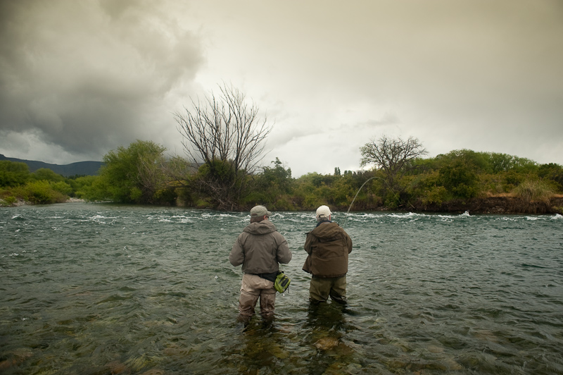 fly fishermen planning